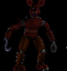Monster Foxy by Purpleman88