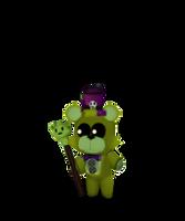 Adventure Agustin the bear by Purpleman88