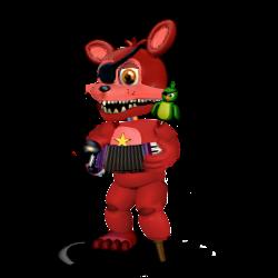 Adventure Rockstar Foxy by Purpleman88