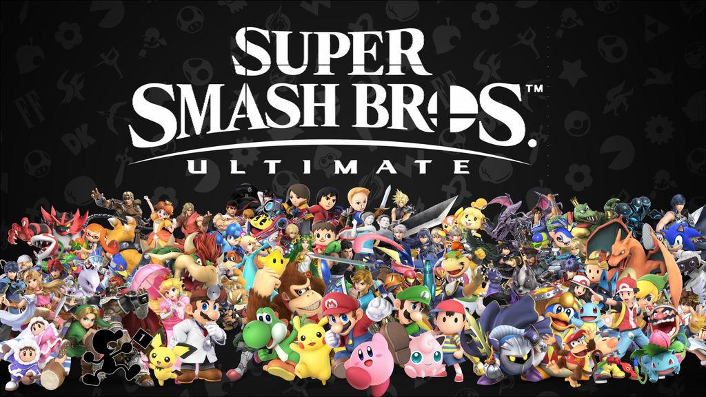 Super Smash Bros Ultimate wallpaper by Purpleman88
