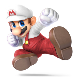 Fire Mario by Purpleman88
