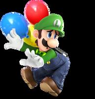 Balloon World Luigi by Purpleman88