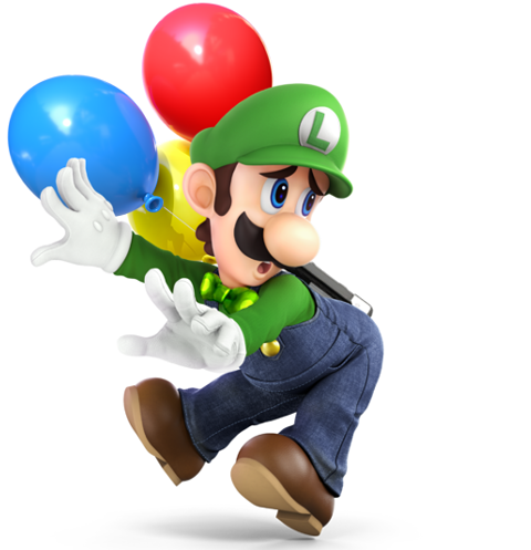 Balloon World Luigi by Purpleman88