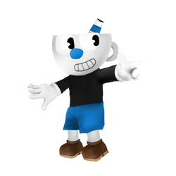 Mugman(Super Smash Bros Ultimate Edit) by Purpleman88