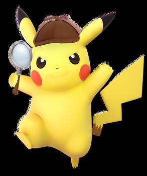 Detective Pikachu(Super Smash Bros Ultimate Edit)