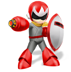 Protoman(Super Smash Bros Ultimate Edit)
