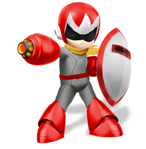 Protoman(Super Smash Bros Ultimate Edit) by Purpleman88