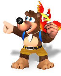Banjo Kazooie(Super Smash Bros Ultimate Edit) by Purpleman88