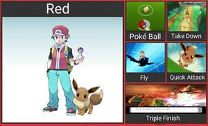 Super Smash Bros. Fighter Idea: Red