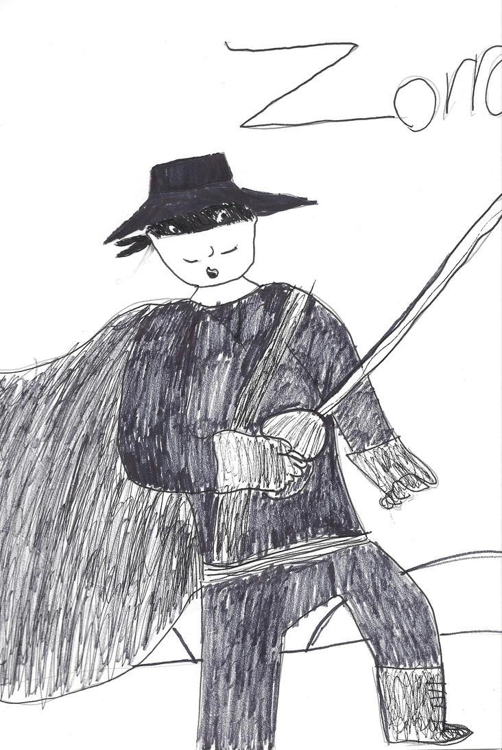 Zorro Sketch By Machojoey23 On DeviantArt