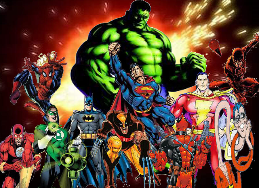 favorite superheros