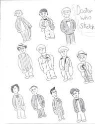 11 Doctors Sketch by machojoey23