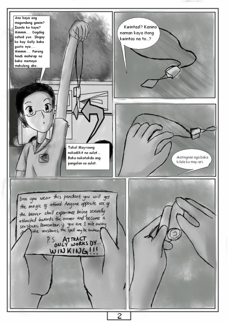 Mahiwagang Kwintas(2009) - Pahina Ikalawa by RJAce1014