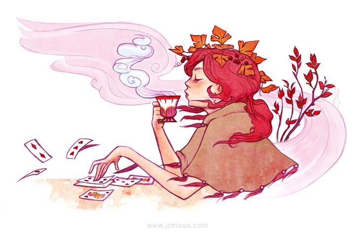 Cranberry Autumn by jorioux
