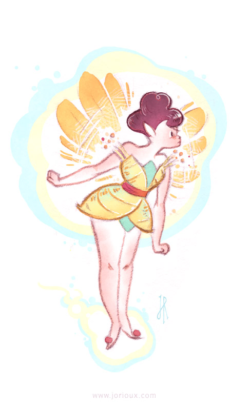 Tinkerbell by jorioux