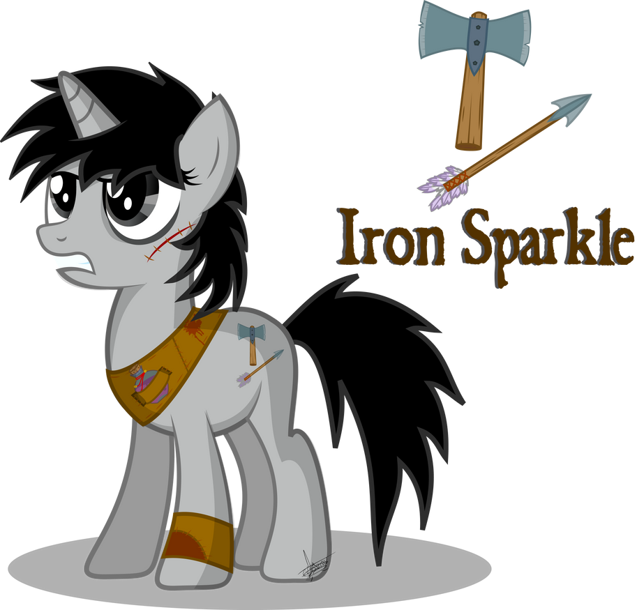 Muestranos tus OC Iron_sparkle_by_frozenfish696-d6132m0