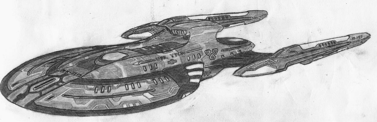 Starfleet USS. TYCHO W-I-P by ghshaw