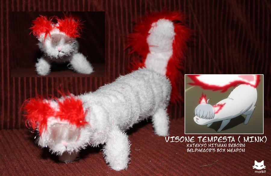 Plushie: Visone Tempesta Storm Mink by marikit