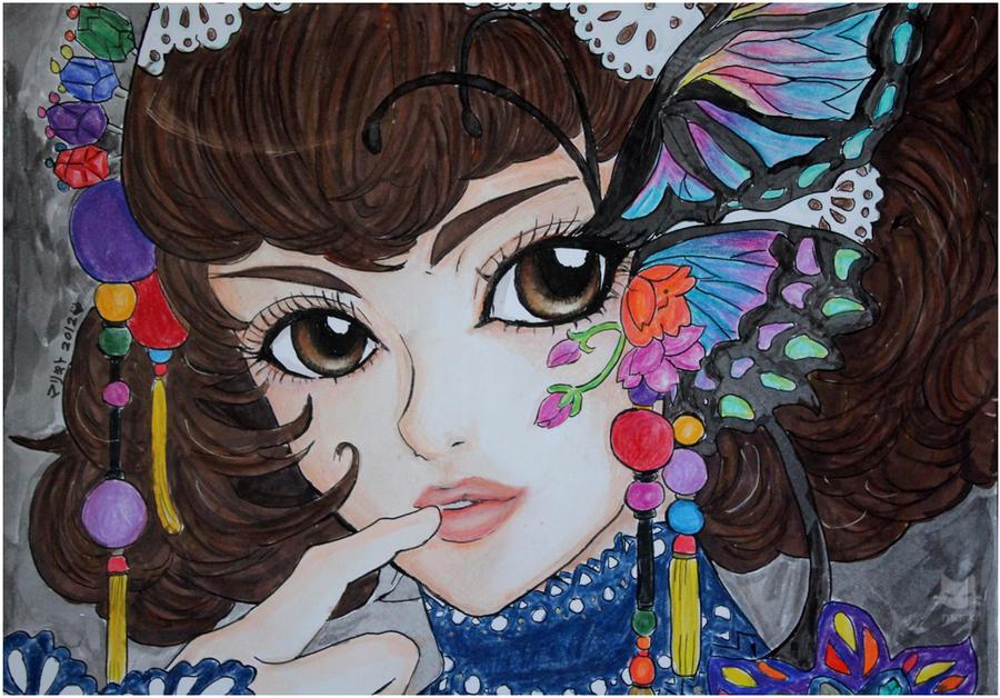Infinite Stage :Floralia: Empress Clotilde by littlemissmarikit