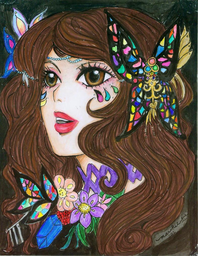 Infinite Stage :Floralia: Lady Atrixia by marikit
