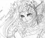 Infinite Stage: Floralia: Anda (Pencils)
