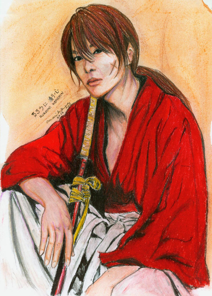 Sato Takeru as Kenshin Himura by marikit on DeviantArt