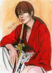 Sato Takeru as Kenshin Himura by littlemissmarikit