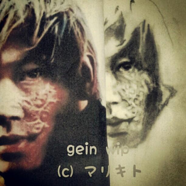 WIP Gein From Rurouni Kenshin By Littlemissmarikit On