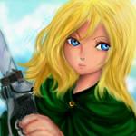 O Megami, Christa! (Ah My Goddess, Christa!) by littlemissmarikit