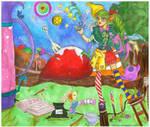 The Misadventures of Sucette les Epices and Bonbon by littlemissmarikit