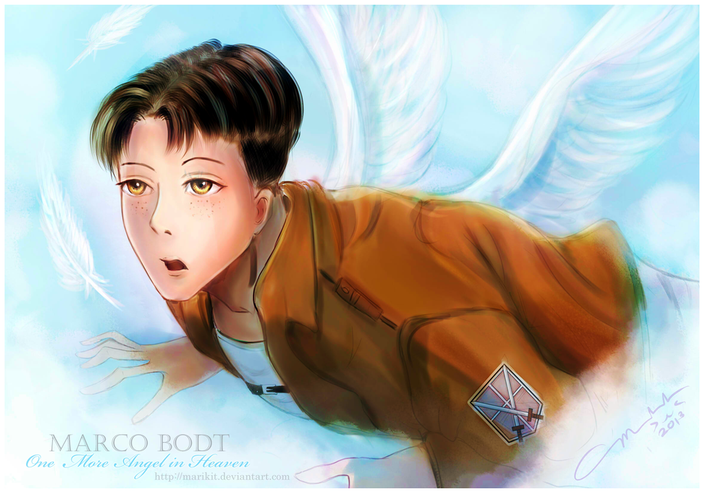 Marco Bodt: One more angel in heaven by littlemissmarikit on DeviantArt