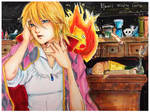 Howl's Moving Castle: Howl and Calcifer