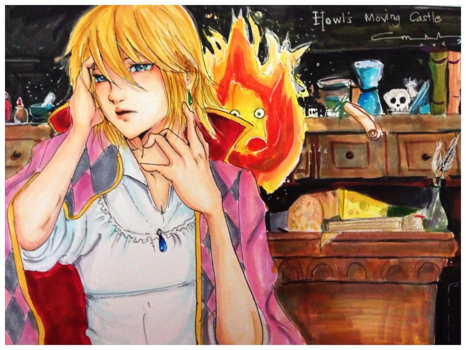 Howl's Moving Castle by marikit