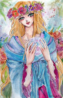 Orb Princess by littlemissmarikit