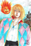Howl Pendragon and Calcifer