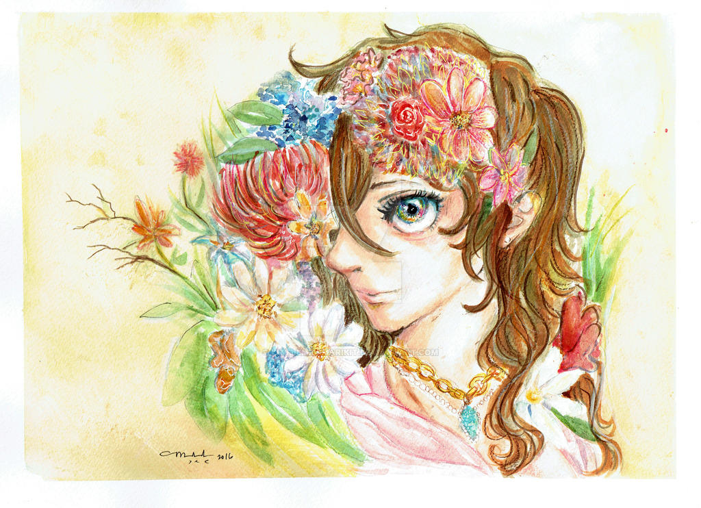 Floral Princess by littlemissmarikit