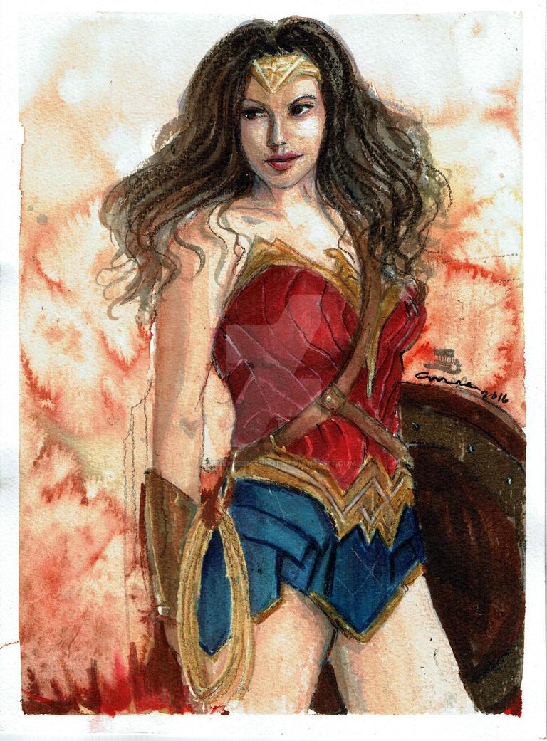 Wonder Woman by littlemissmarikit