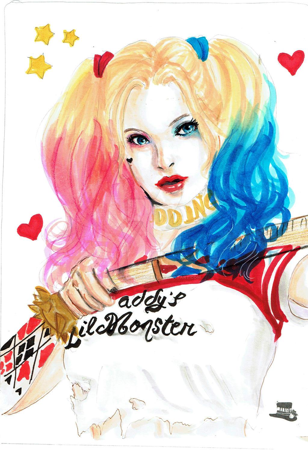 Harley Quinn from Suicide Squad by littlemissmarikit