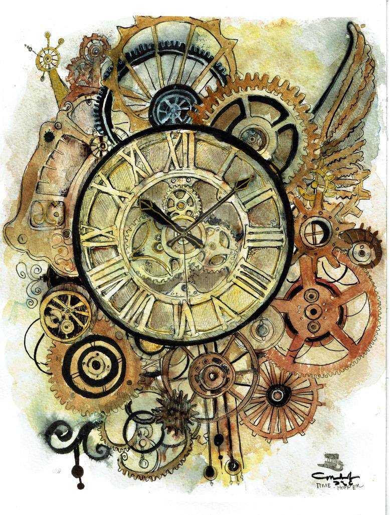 Time Hopper by littlemissmarikit