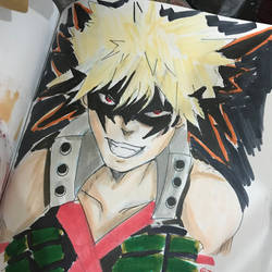 Bakugo doodle