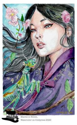 004: Mantis in Bloom
