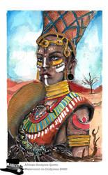 African Scorpion Queen