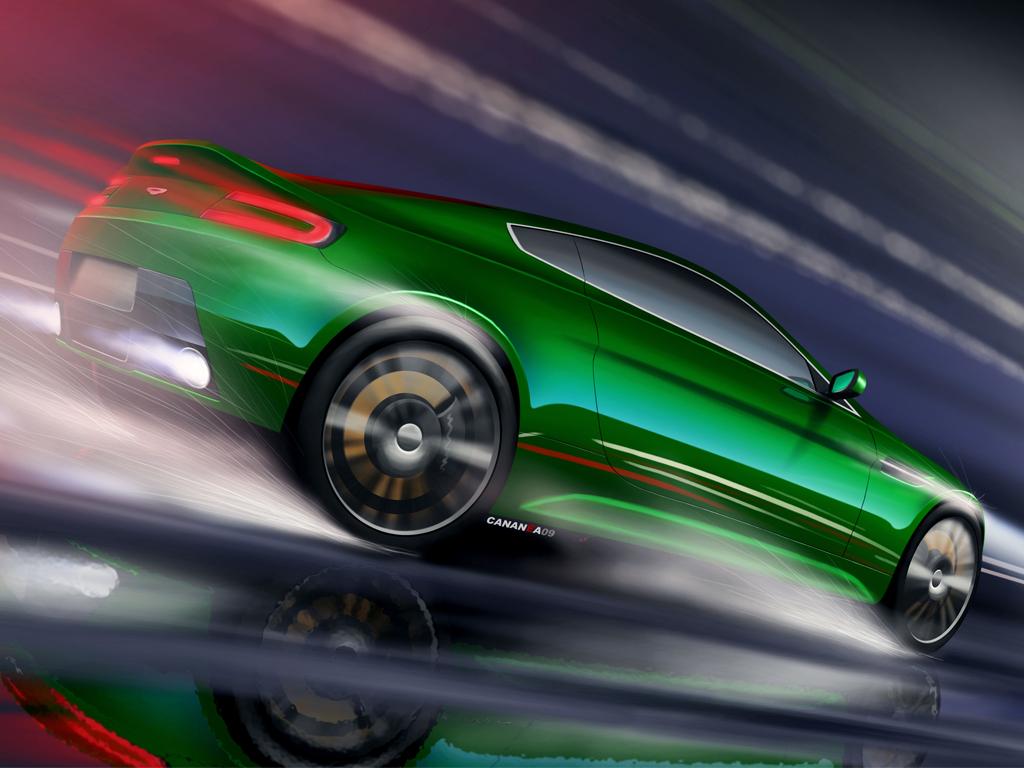 Aston Martin by cananea