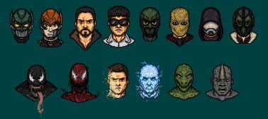Spiderman Rogue Gallery by DeadStreak