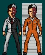 Harvey Dent/Two face by DeadStreak