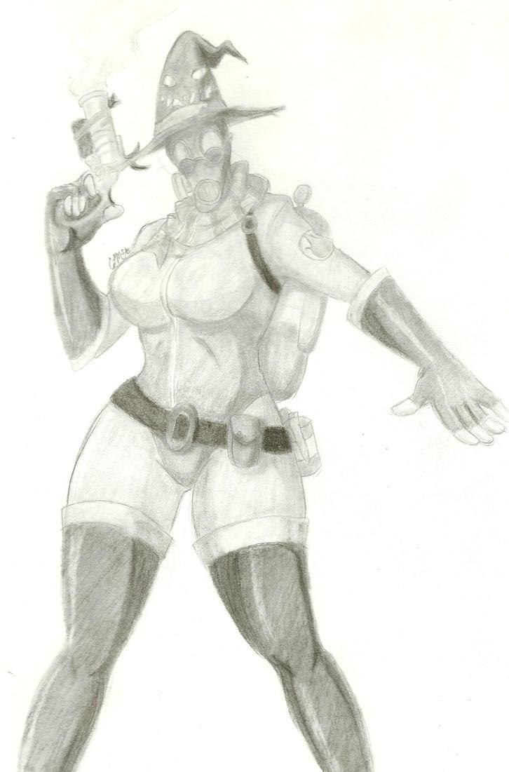 TF2 - My Lady Pyro by gatta-demonia