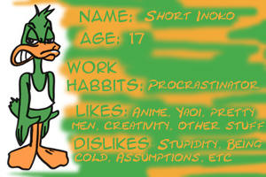 Plucky ID by shortinoko