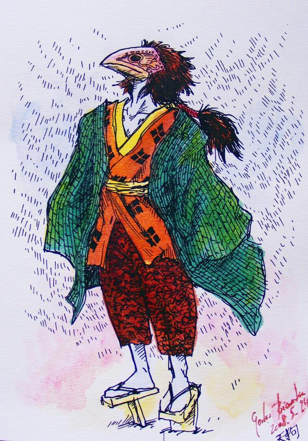 Tengu by KitsuneBara