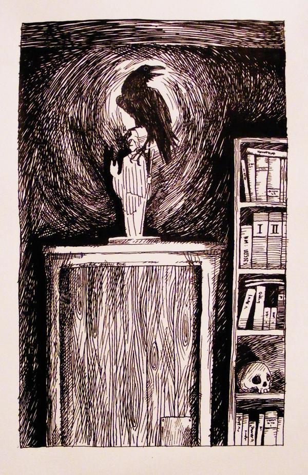 The Raven by KitsuneBara