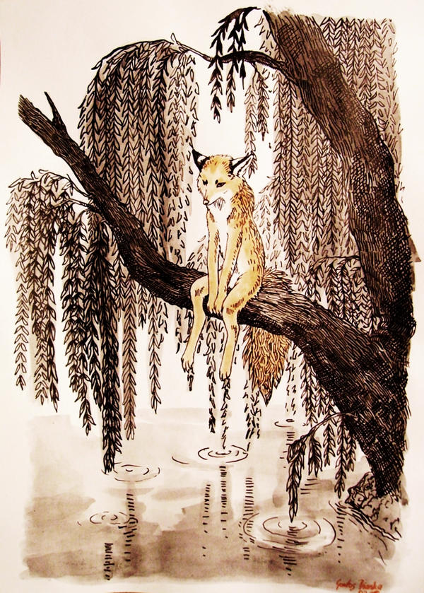 Fox Lament by KitsuneBara